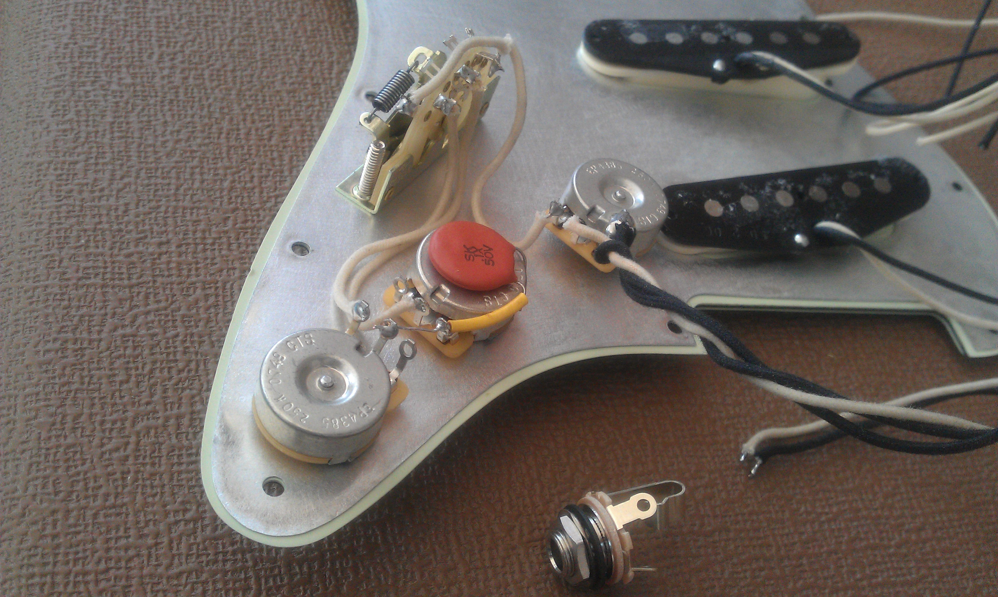 61 Strat Pre wired guitar wiring harnesses prewired stratocaster harness at edmiracle.co