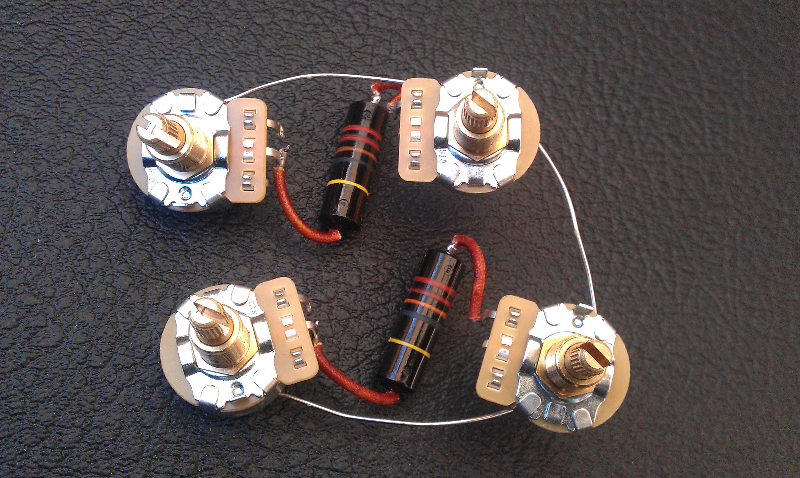 guitar wiring harnesses available